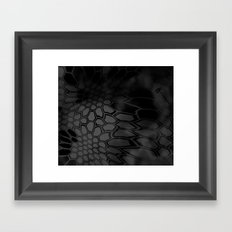 Typhon Camouflage Pattern Framed Art Print