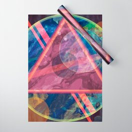 Mystic Astrology Geometry Wrapping Paper