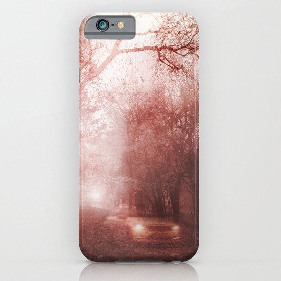 Ghost race iPhone & iPod Case