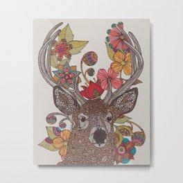 Hello my Deer Metal Print