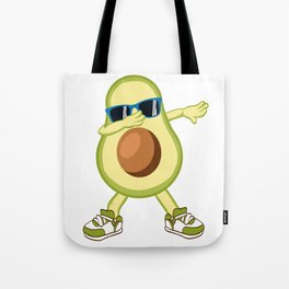 This Dabbing Avocado Funny Avocato is the perfect gift for anyone on their Birthday, Christmas Dab Tote Bag
