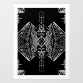 City Kaleidoscope - Brisbane  Art Print