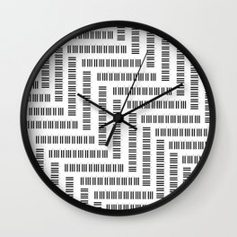 Tickling the Ivories Wall Clock