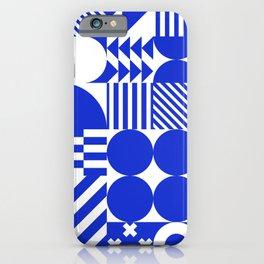 Greece Blue iPhone Case