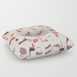 Rose Terrazzo - Light Floor Pillow