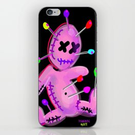 VOO DOO LOVE TOY iPhone Skin
