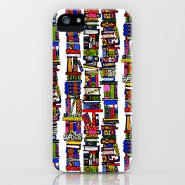 get thee to a library ... iPhone Case