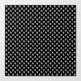 Jupiter Noir Pattern Canvas Print