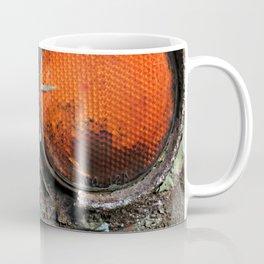 caution {deconstruction series Coffee Mug