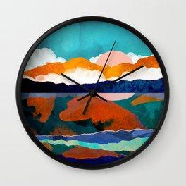 Fallscape Wall Clock