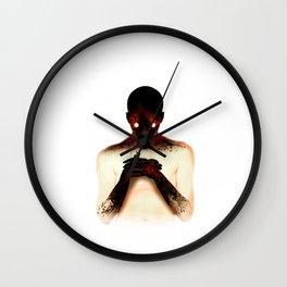 The matchstick Wall Clock