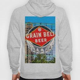 Grain Belt Beer Sign Hoody