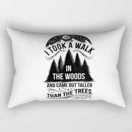 TALLER THAN THE TREES Rectangular Pillow