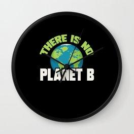Environmental Protection Climate Change Wall Clock