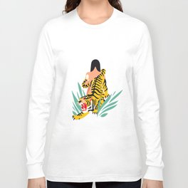 Waking the tiger Long Sleeve T-shirt