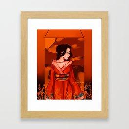 Naoko Framed Art Print