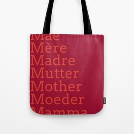 Mater - Jester Red Tote Bag