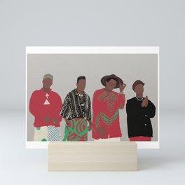 A TRIBE CALLED QUEST Mini Art Print