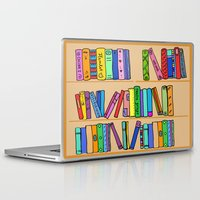library Laptop & iPad Skins featuring The library by andy_panda_