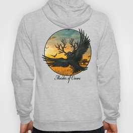 Malphas Halphas and the Murder of Crows Hoody