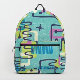 Mid Century Modern Abstract Pattern 735 Backpack