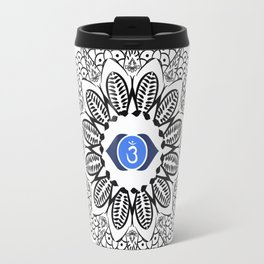 Third Eye Chakra Mandala Travel Mug