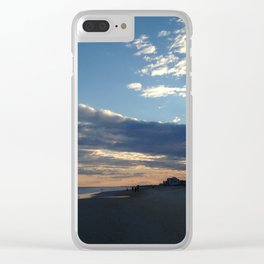 Forming clouds Clear iPhone Case