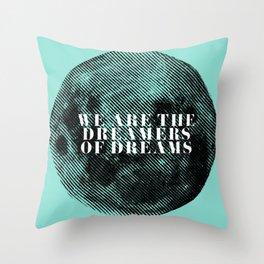 Lunar Dreams Throw Pillow
