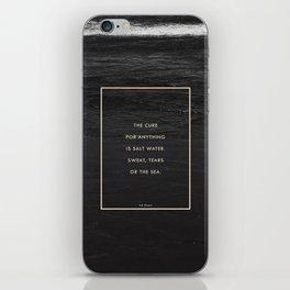 Salt Water iPhone Skin