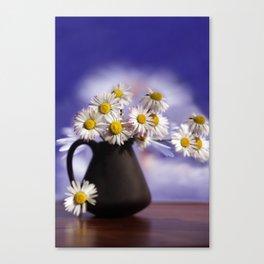 I Love You my Gänseblümcher Canvas Print