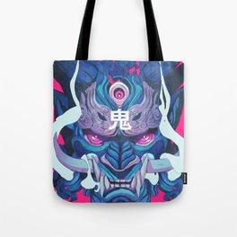Oni Mask 01 Tote Bag