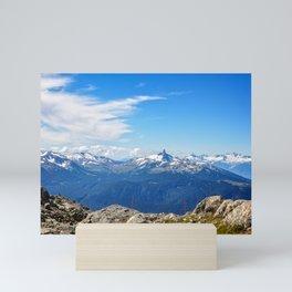 Alpine mountain view, Canada Mini Art Print