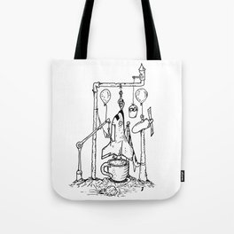 Before Launch Tote Bag