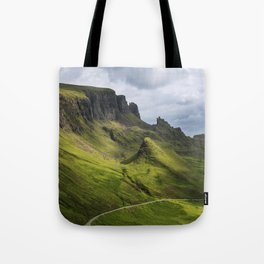 Mesmerized by the Quiraing Tote Bag