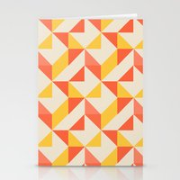 geo Stationery Cards featuring Geo by Aneela Rashid
