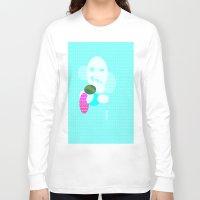 monster Long Sleeve T-shirts featuring Monster by Latidra Washington