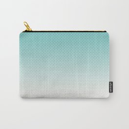 Ombre  light blue Carry-All Pouch