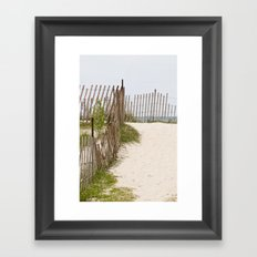 A Path to Paradise Framed Art Print