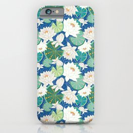 Lily Paddle iPhone Case