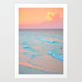 137. Amazing Sunset, Cuba Art Print