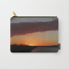 Ohio River Sunset Carry-All Pouch