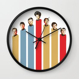 Star Trek TOS Graphic Print Wall Clock