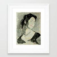 liz climo Framed Art Prints featuring Liz .  by Marat Cherny