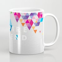 vampire weekend Mugs featuring Vampire Weekend  2 by alboradas