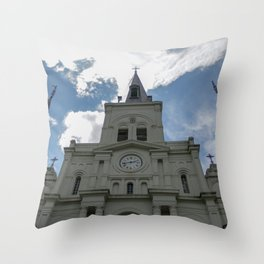 Piercing the Heavens Throw Pillow