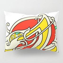 Viking Dragon of Infinite Warmth Pillow Sham