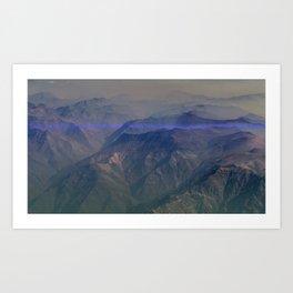 El Canto de la Montaña Art Print