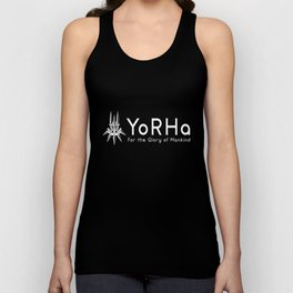 YoRHa - White Unisex Tank Top