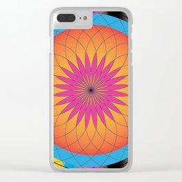Mandala Art Clear iPhone Case