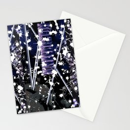 cat in universe part2 Stationery Cards
